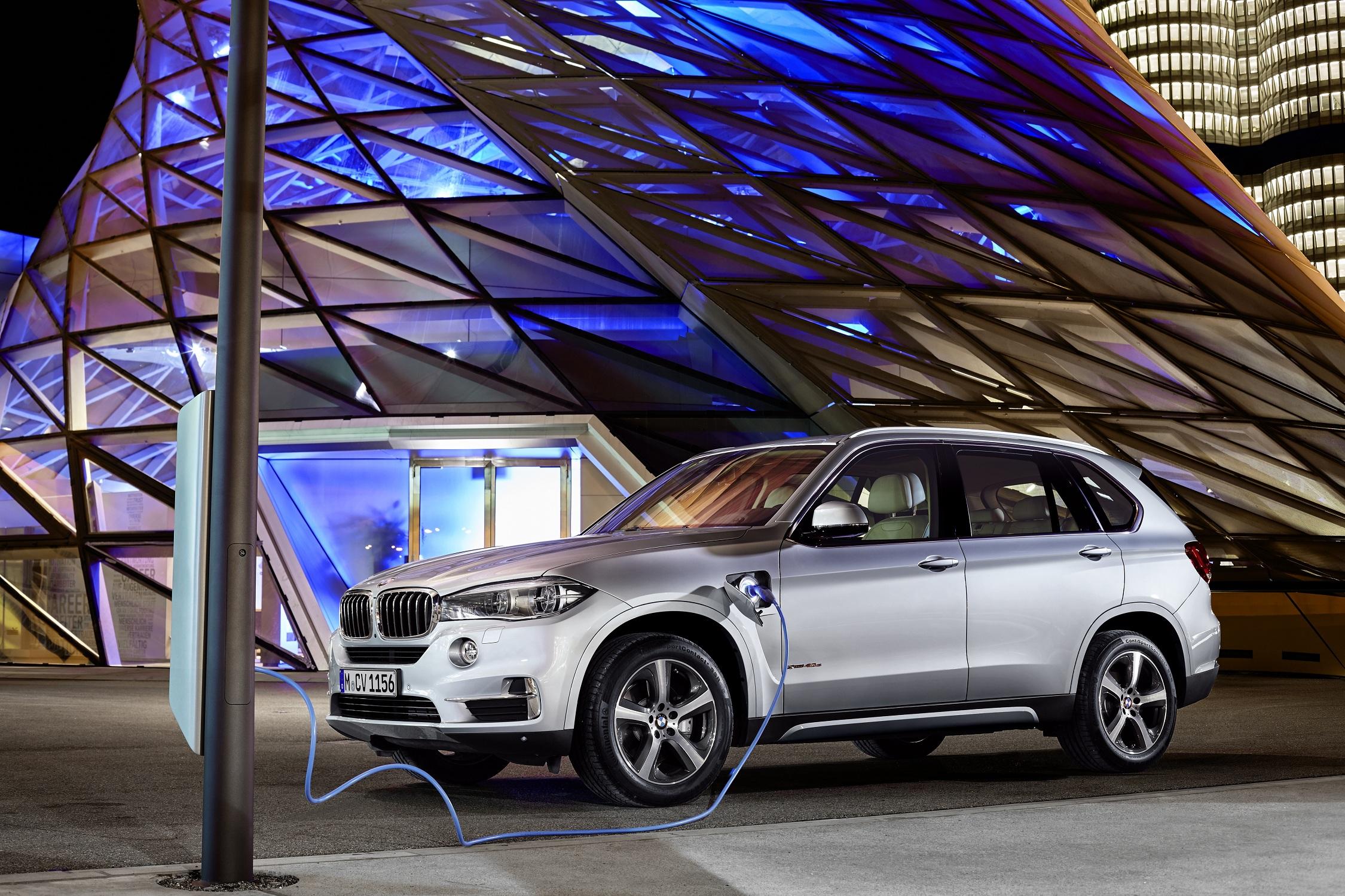 The BMW X5 xDrive40e