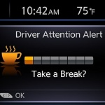 "Nissan's ""Driver Attention Alert"" helps detect erratic driving c"