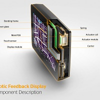 Continental Haptic Feedback Display component description