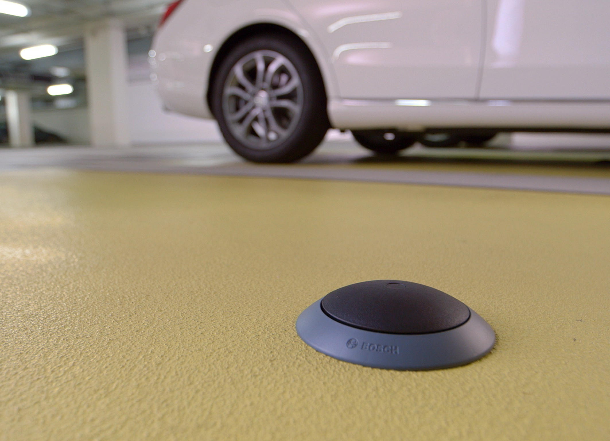 Bosch is relieving drivers of the search for a parking space
