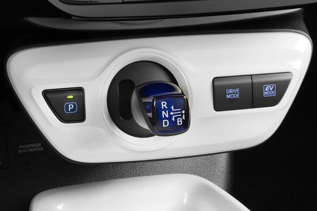 New Toyota Prius interior