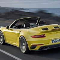 Porsche 911 Turbo S cabriolet