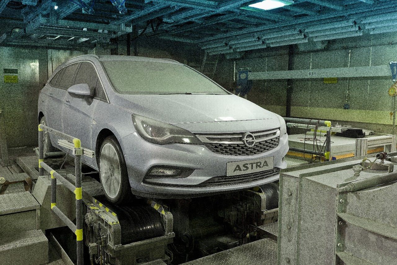 Test froid de l'Opel Astra Sports Tourer