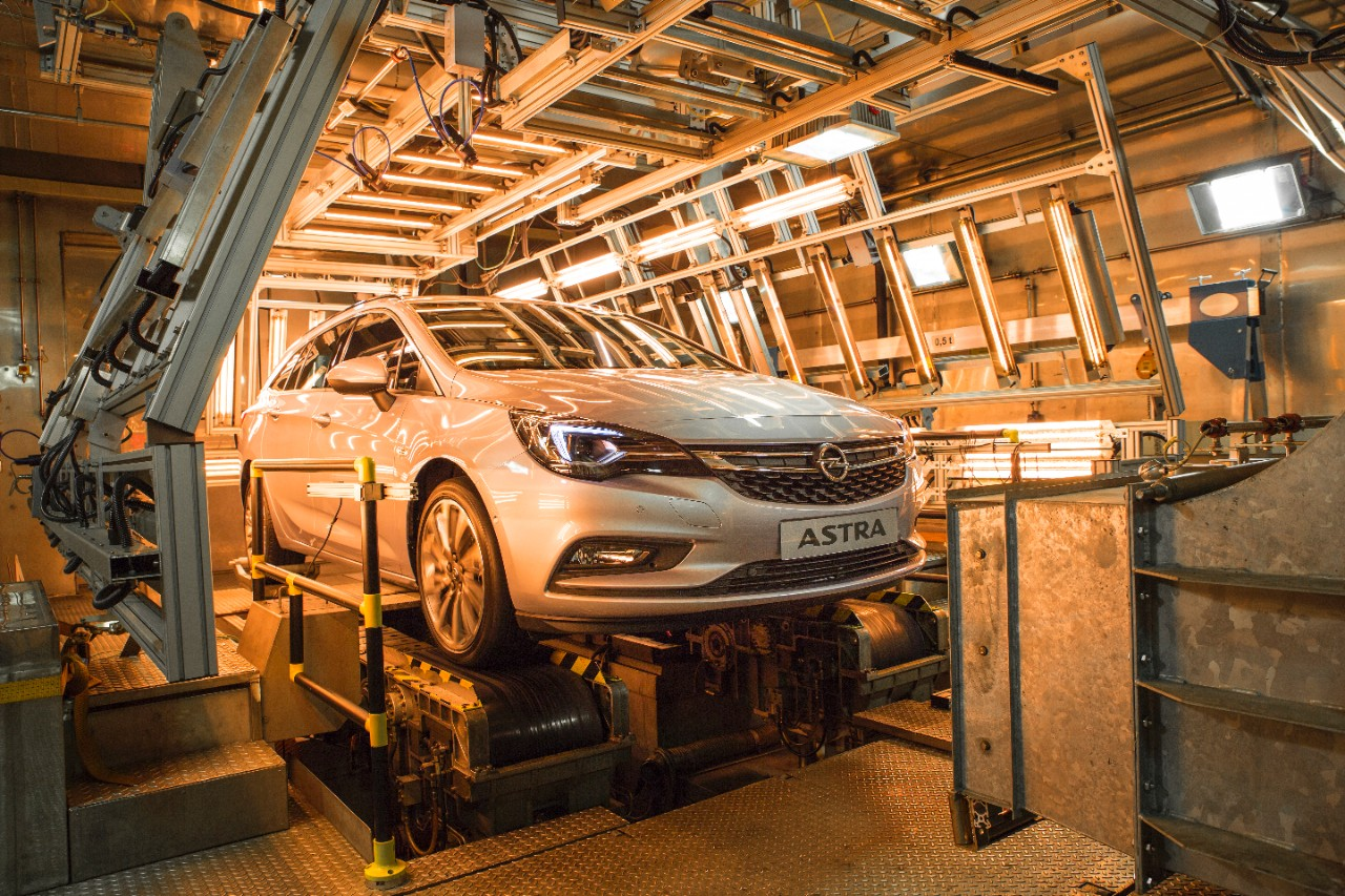 Test climatique chaud de l'Opel Astra Sports Tourer