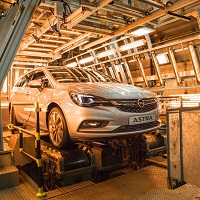 Opel Astra Sports Tourer hot testing