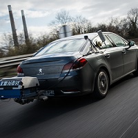 real-world measurements on Peugeot 508