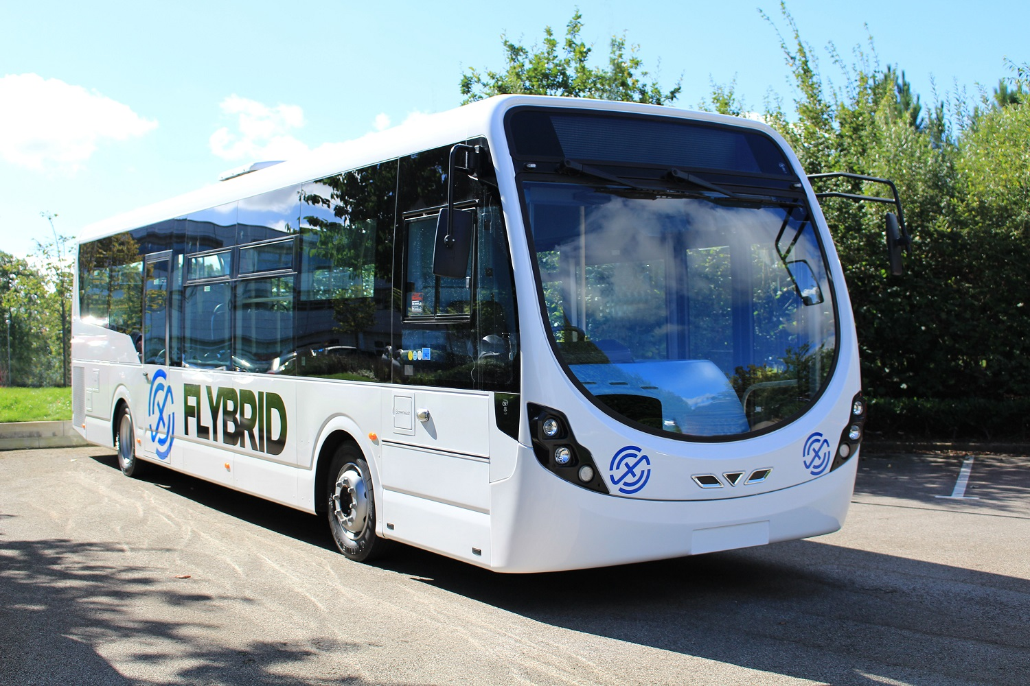Wrightbus StreetLite fitted with a Flybrid Energy Recovery System