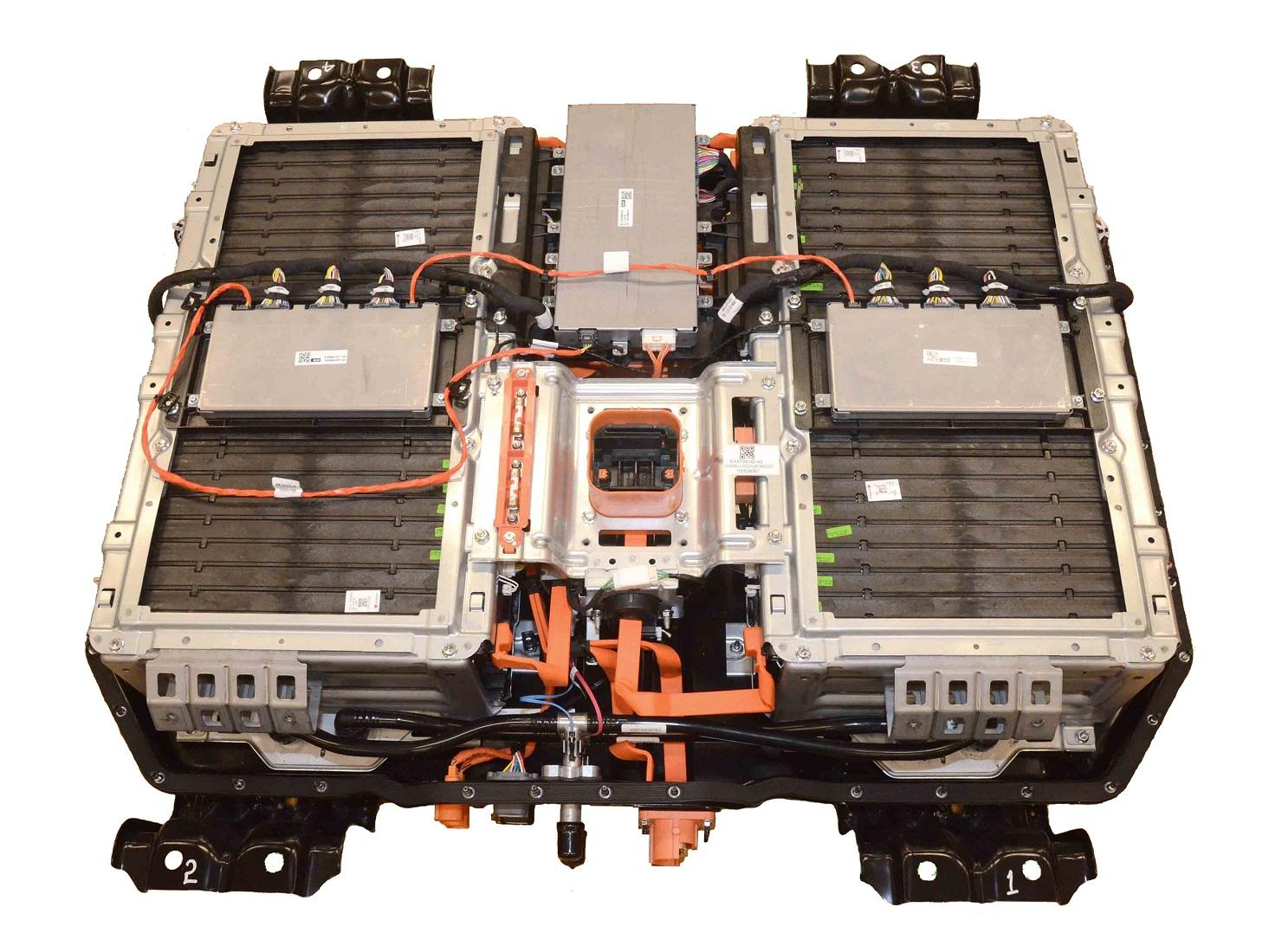 Chrysler Pacifica hybrid battery pack