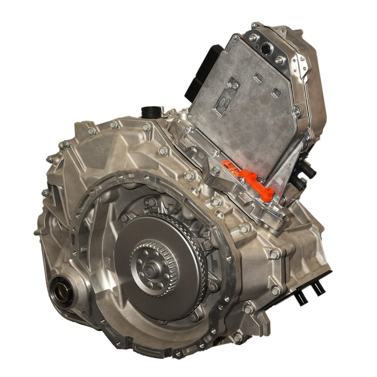 Chrysler Pacifica hybrid eFlite transmission