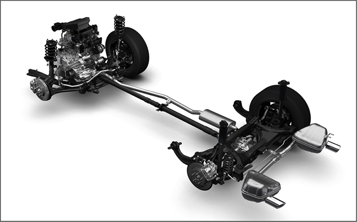 Honda CR-V chassis