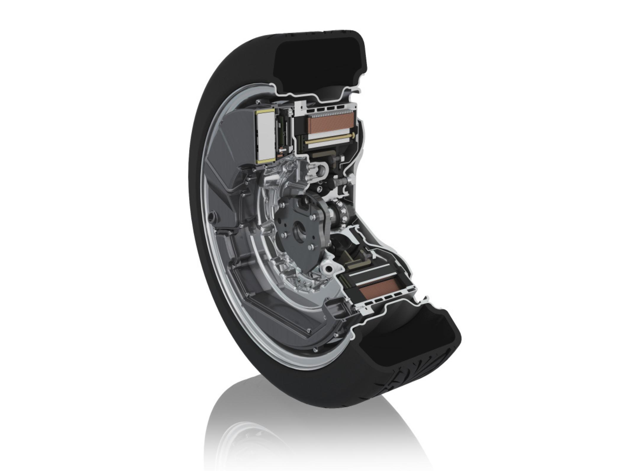 Schaeffler's E-Wheel Drive