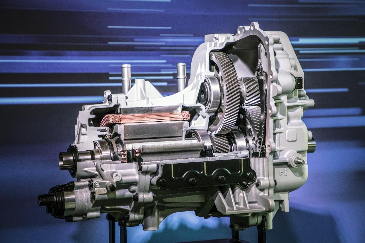 Machine électrique de l'Opel Ampera-e