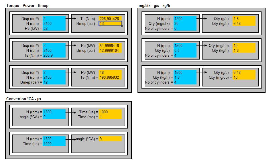 Engine conversion tool
