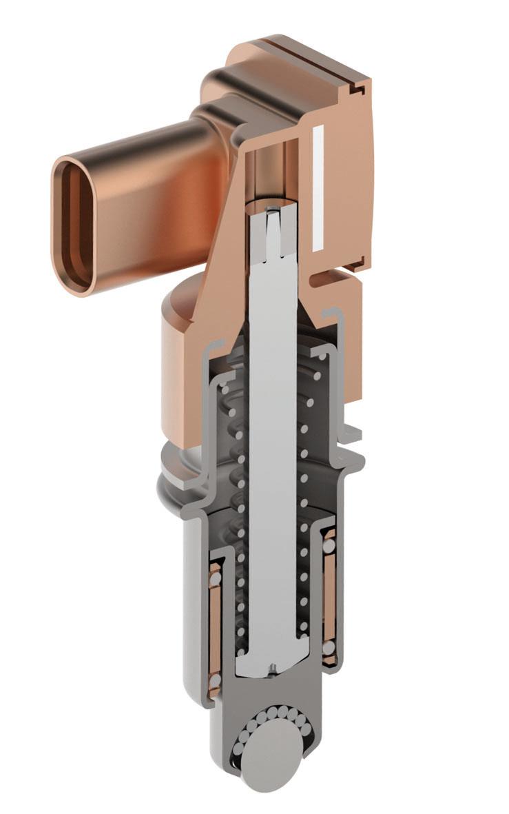 Cross-section of the Schaeffler sensor detent