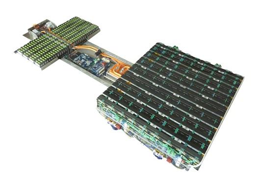 The SmartBatt prototype unit