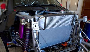 Mini All4 Racing body