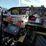 Mini All4 rallycar cockpit