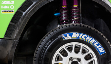 Mini All4 brake and tire system