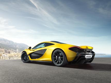 The all new McLaren P1