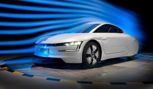 XL1 aerodynamic tests