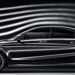 Mercedes CLA aerodynamic