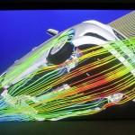 mercedes CLA aerodynamic simulation