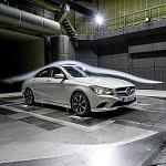 Mercedes CLA aerodynamic testing