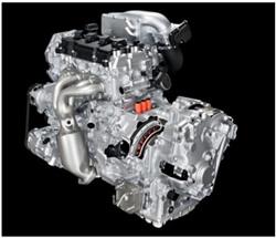 Nissan 2.5L supercharger engine with EM