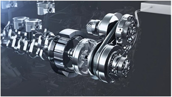 Nissan dual clutch and CVT system