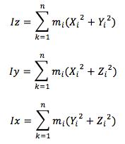 Calcul de l'inertie