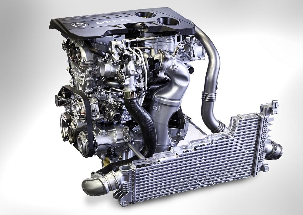Opel 1.6 SIDI Turbo engine