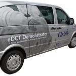 Mercedes vito EV demonstrator