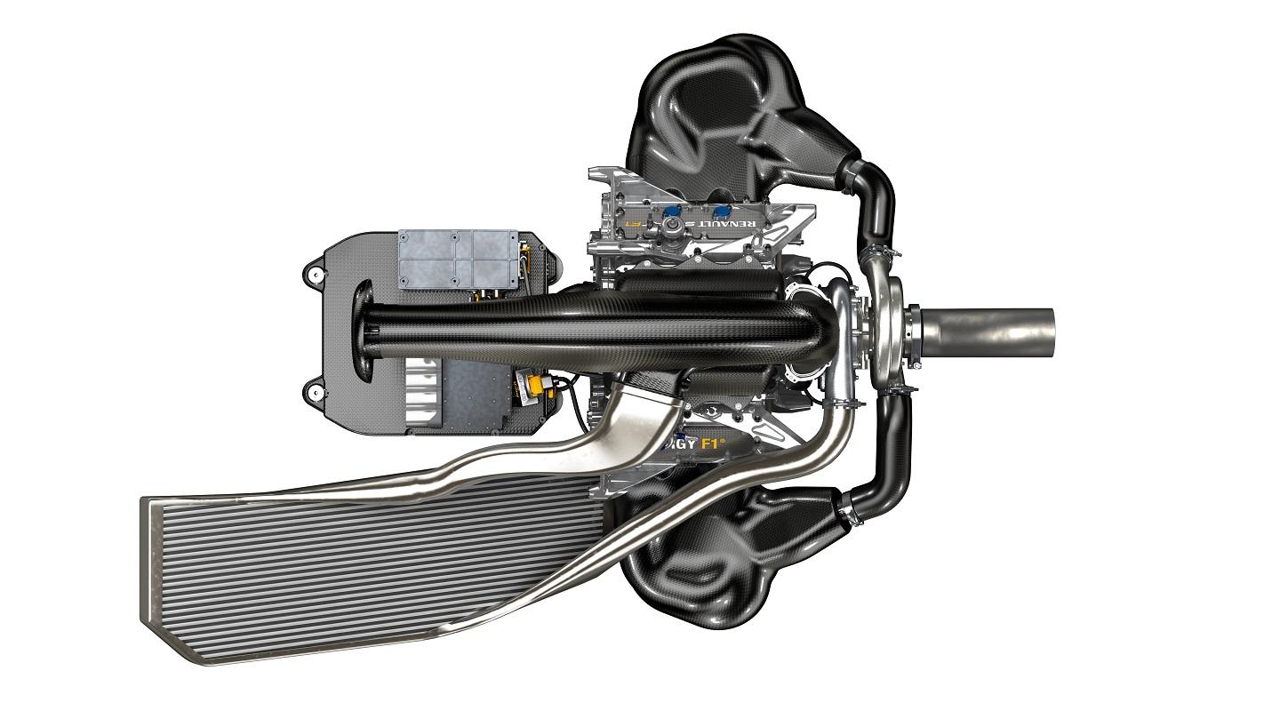Energy F1-2014 complete Power-unit