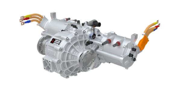 La transmission 4SED couplée à des machines électriques