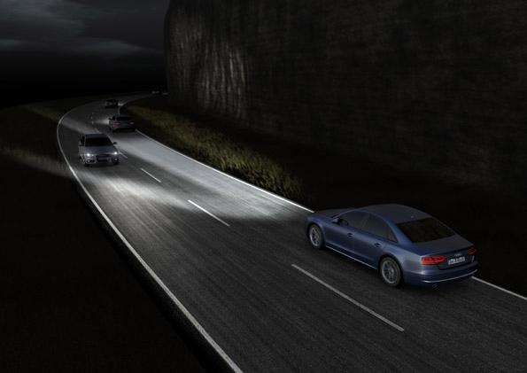 Dynamic lighting with Matrix LEDs