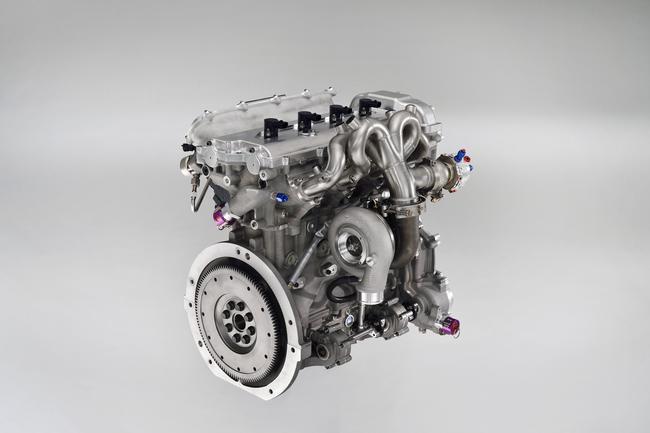 1.6l Toyota Hybrid-R engine