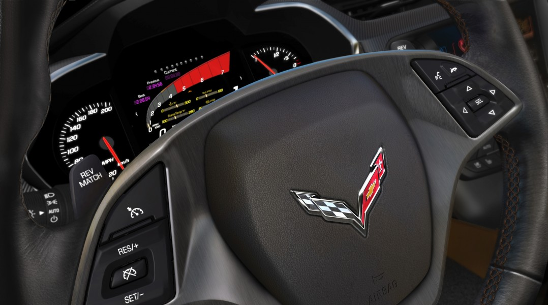 2014 Chevrolet Corvette Stingray dashboard