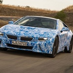 BMW i8 track tests