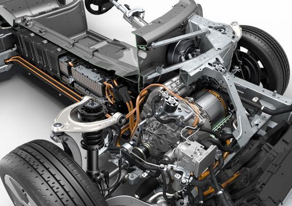 BMW i8 electric machine