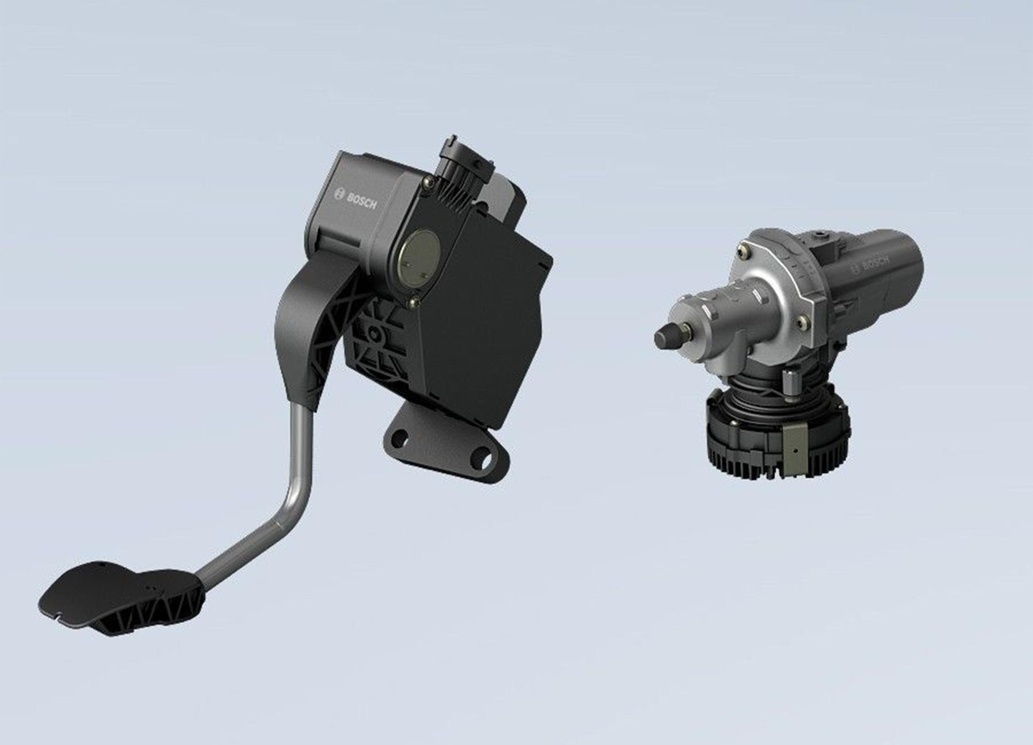 Bosch electronic clutch