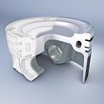 Elastothermic Piston for gasoline engines