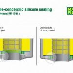 Silicone-sealing-for-oil-drainback