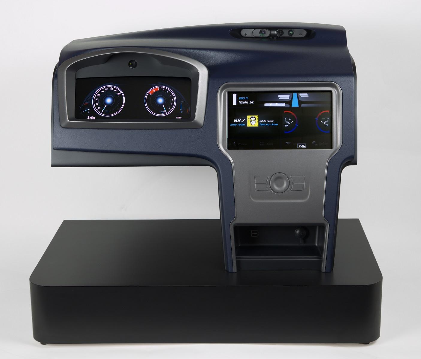 Camera-Enhanced Cockpit Concept