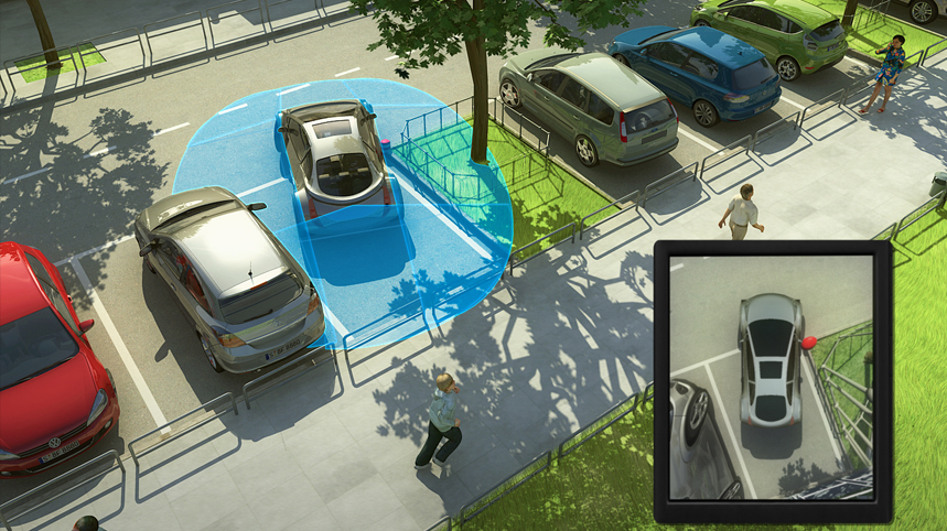 360vue parking assistance
