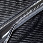 Boot lid carbon fibre composite