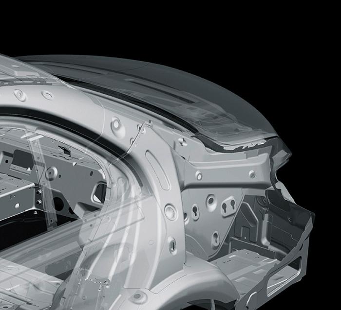 Vehicle rear body design