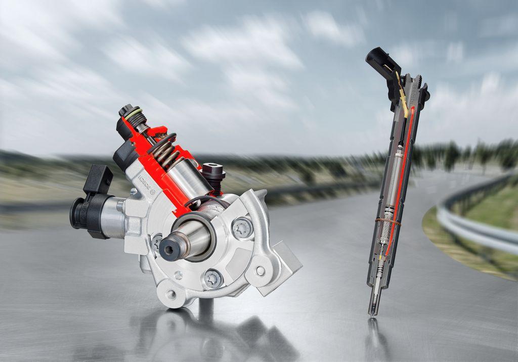 Bosch CRS3-25 atteignant une pression de 2500 bar