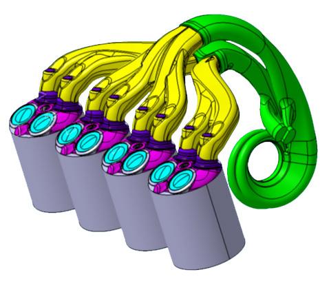 Twin-scroll turbocharger