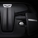 Bentley Continental V8 S engine