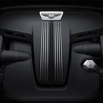 Bentley V8 S engine